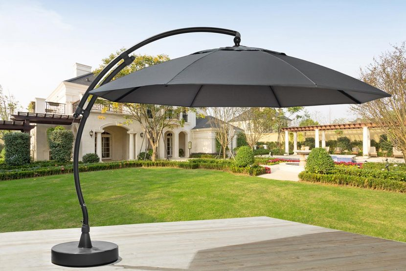 ampelschirme im gartenm bel lagerverkauf in neuss hoisten. Black Bedroom Furniture Sets. Home Design Ideas